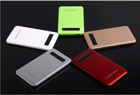 Wholesale Standby Battery Mobiles - High quality power bank 4000mAh universal all mobile phone standby LCD display battery outside