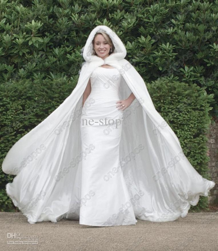 Plus Size Bridal 2015NewWhite Velvet Winter Wedding ...