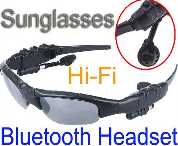 Updated Sports Sunglasses Wireless Bluetooth Headset Music