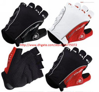 Wholesale Mountain Bike Fingerless Gloves - Road Cycling Mountain Racing Riding Bike Bicycle Fingerless Motorcycle Gloves