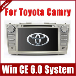 "Wholesale Toyota Camry Bluetooth Stereo - 8"" Head Unit Car DVD Player GPS Navigation for Toyota Camry 2007-2011 with Radio Bluetooth TV USB SD AUX Auto Audio Video Stereo"