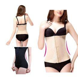 Wholesale Tummy Girdle Waist Trimmer - S5Q Waist Belly Tummy Slimming Body Belt Shapewear Corset Cincher Trimmer Girdle AAADBZ