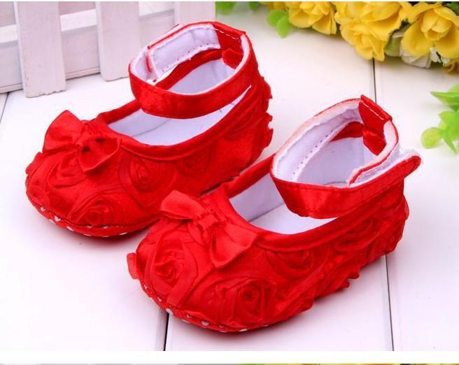 NOVA Flor rosa Bebê Primeiro Walker Sapatos infantil bebê prewalker crianças antiderrapante sapatos meninas sapatos frete grátis