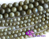 "Wholesale food discount - Discount Wholesale Natural Genuine Blue Labradorite Round Loose Stone Beads 3-18mm Fit Jewelry DIY Necklaces or Bracelets 15.5"" 02973"