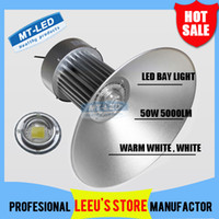 Wholesale High Power Led Lamp Price - Surprise price!! sale Free Shipping (4pcs lot) High Power 50W LED High Bay Industrial Lamp 85-265V AC CE RoHS Approved