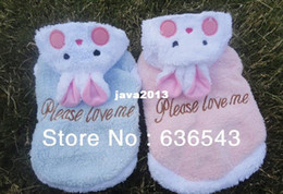 Wholesale Clothes Coats For Rabbits - Free Shipping Hot Sell Berber Fleece Pet Puppy Dog Clothes Cute Rabbits-Shaped Dog Teddy Clothes Coat  For Winter Spring Autum
