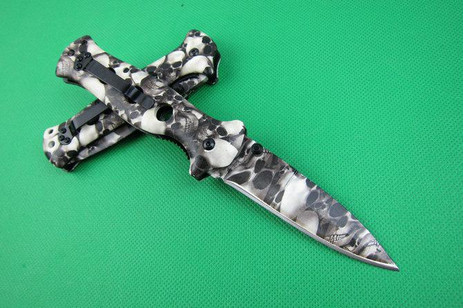 Cold steel X33 Camouflage tactical knife Outdoor camping hiking survival knife Excellent quality tactical knife knives