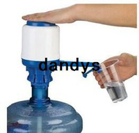 Wholesale Drink Dispenser Pump - 2014 New Powerful Pump Dispenser Bottled Drinking Water 5 Gallon w  Press Switch Free shipping #1836, dandys