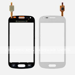 I8552 Touch Screen UK - BlacK White Sensor For Samsung G360 G3608 G386F G360 I8262 I8260 S7562 S7560 S7582 S7580 I8552 Digitizer Touch Screen