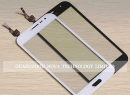 Wholesale Touch Screen Win - White Black Digitizer For Samsung Galaxy Win i8552 Touch Screen Glass Digitizer Replacement; Free Shipping