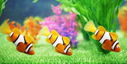 Wholesale Robot Fish Led - free shipping 16 color New Novel Robofish Electric Toy Robo Fish with led ,Emulational Toy Robot Fish