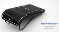Wholesale Galaxy Visor - Wireless Bluetooth Handsfree Car Kit Sun Visor Clip Drive Talk Car Speakerphones For iPhone Galaxy