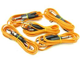 Rca Power Supply Canada - One RCA Jack Plug Adaptor Clip Cord for Tattoo Machine Gun Power Supply silicone wire
