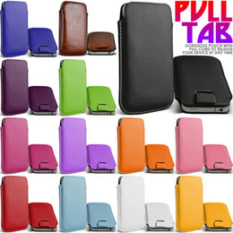 Wholesale Galaxy S4 13 - HOT Selling 13 Colors PU Leather Case Pouch Sleeve with Pull Tab for Samsung Galaxy S4 S3 S5 Note3 Note2 iphone 5S 5C M7 200pcs lot