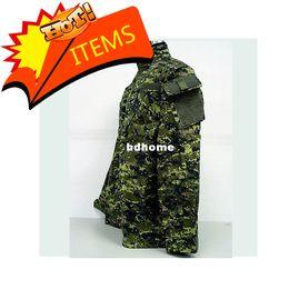 Wholesale Bdu Xxl Pants - Cadpat SWAT Digital Camo Woodland BDU Uniform Set shirt + pants free ship