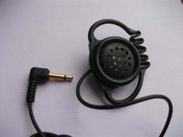 Wholesale Speaker Posts - 3.5mm mono hook earpiece headphones Cheap headsets Big size speaker headphones  Free shipping by post