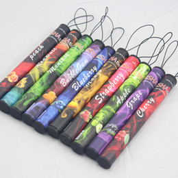 Wholesale E Cigarettes Nicotine - Hot New ShiSha Time Disposable Cigarette E HOOKAH 500 Puffs No Nicotine Various Fruit 18 Flavors DHL free shipping