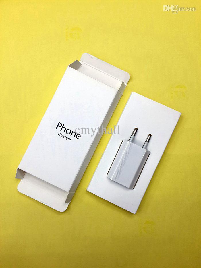ЕС главная зарядное устройство США Plug подлинная 5V 1A 1000mAh USB питания путешествия адаптер переменного тока зарядное устройство для ip 5/5s / 5c Samsung HTC
