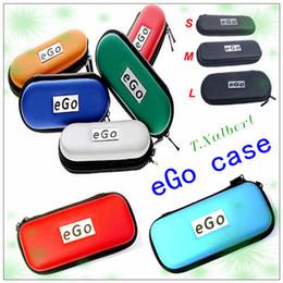 2019 saco de vapor de dupla plataforma Saco do ego de Hotsale, caso colorido do ecig do estojo do ego com tamanho diferente do logotipo do ego para opções