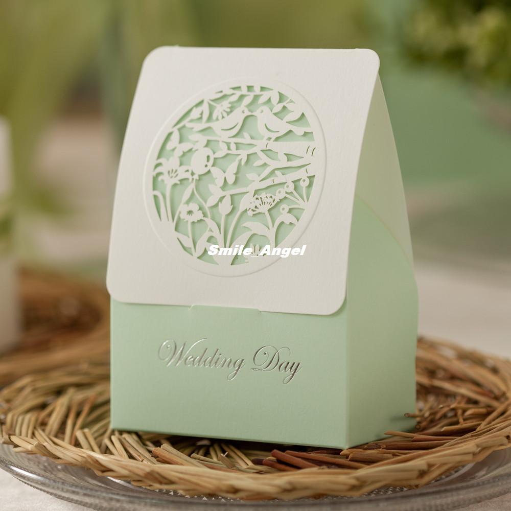 Creative Hollow Candy Box Paper Wedding Candy Box Wedding