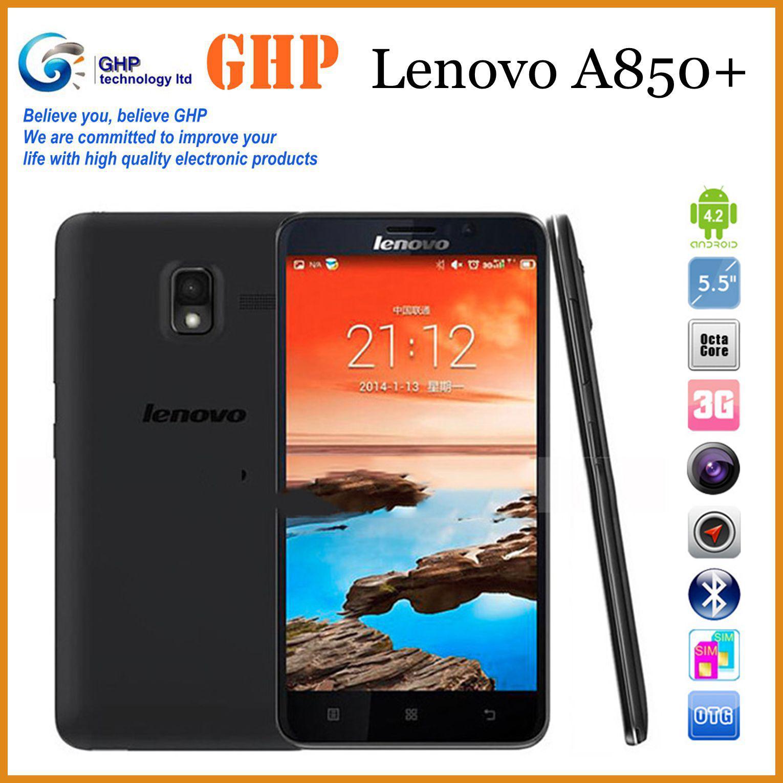 Prochaine Sortie Smartphone En Stock Dorigine Lenovo A850 Telephone Mt6592 Quad Core Phone 55 Pouces Android 42 Gps Wcdma 3g Smart Soutien