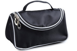 Free Shipping ePacket New Makeup Bag With Zipper Cosmetic Bag! from stars leather suppliers