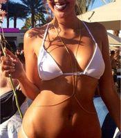 Wholesale China Hot Bikini - Hot Sale Beauty Fashion Sexy Belly Chains 24K Bikini Body Necklace