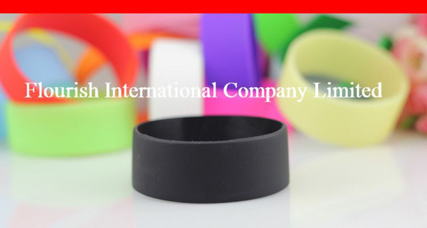 top popular Wholesale Silicone bracelet 202*25*2MM Blank silicone wristband 2019