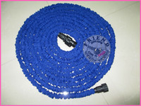 Wholesale Hose Uk - free fedex.100pcs lot 25FT 50FT 75FT 100 Feet Flexible Hose Garden Irrigation Water Pipe US UK,EU,Standard,in stock!