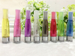 Ego Wickless Tanks Canada - GS-H2 tank Atomizer GS H2 Clearomizer no wick wickless, replace ce4 ce5 CE6 fit ego-t ego-w ego-c 510 battery ego ecig electronic cigarettes