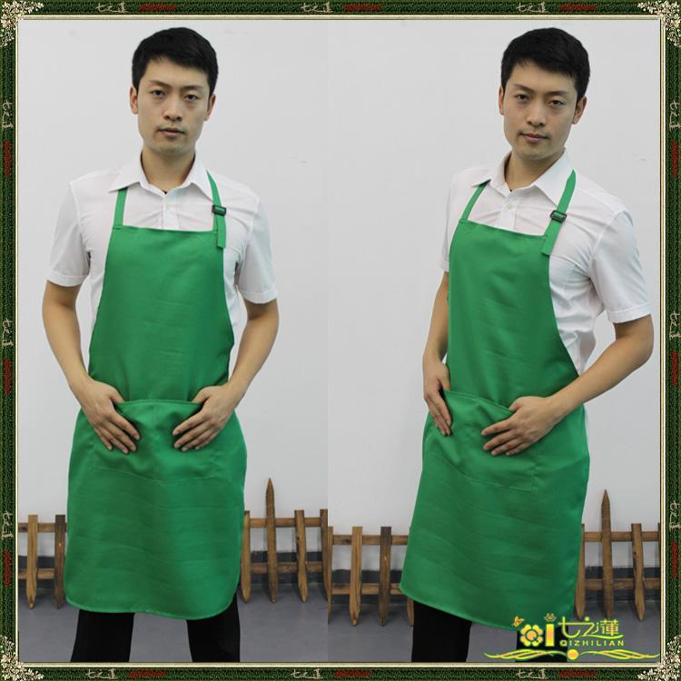 Restaurant Kitchen Aprons new style men's kitchen restaurant dinning room pinafore light