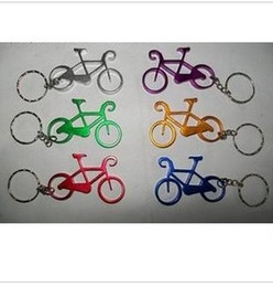 Wholesale Printing Color Bars - Personalized Keychain Design Bicycle Versatile Aluminum Beer Bottle Opener For Funny Kitchen Supplies Bar Tools Wedding Favor (Can Be Print