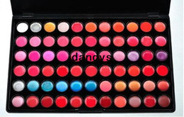 66 Pro Color Lip Gloss Labial Cosmetic Última labios largo maquillaje del color mate Lip Smacker maquillaje paleta envío libre, dandys desde fabricantes