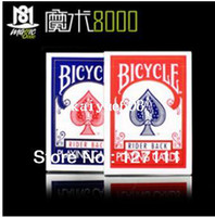 Wholesale Decks Bicycles - Free shipping American bicycle poker Bicycle Playing Cards original version magic props super cool poker play 1 deck