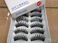 Wholesale Specials Lashes - Thick Soft Long False Eyelashes Eye Lashes special for party 100Pairs lot wholesale Freeshipping