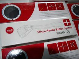 Wholesale Needle Removal - 540 stainless needle derma roller,MRS 540 derma roller microneedle roller for acne removal. best sale roller for skin beauty,20pcs