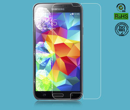 Wholesale Galaxy S3 Mini Retail - Tempered Glass Screen Protector Protective film For galaxy s5 S4 S3 NOTE 2 3 4 for iphone 4 5 6 6+ plus with retail package mini 200pcs