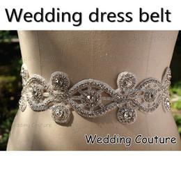 Wholesale Sparkle Belt Wedding Dress - 2016 Free Shipping New Style Crystal Rhinestone Sparkle Wedding Dress Belt Jewelry Prom Party Dress Sash Jewelry 005