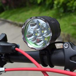 Argentina Ciclismo Headlamp 7000 LM 5x CREE XML T6 LED HeadLight Bike Light 6x18650 Batería Envío gratis Suministro