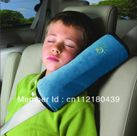 Wholesale Acura Seat Belt - Free Shipping 2Pcs Lot Baby Auto Pillow Car Safety Belt Shoulder Pad Vehicle Seat Belt Cushion for Kids Children