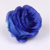 ingrosso peonie di tessuto-NUOVI ARRIVI 100 pezzi 8 cm seta artificiale camelia tessuto rosa peonia teste di fiori artificiali