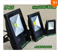 Wholesale Flood Homes - Hot Sale LED Flood light 85V-265V Warm White Cool White Red Green Blue Waterproof Spotlight Projection lamp Home Garden Outside light