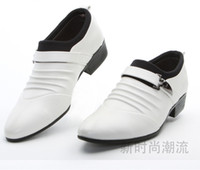 Wholesale Low Price Prom Shoes - Lowest price men's black shine wedding shoes prom shoes leather shoes PX12