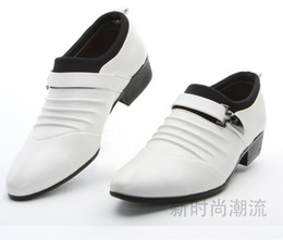 Wholesale Lowest Price Party Shoes - Lowest price men's black shine wedding shoes prom shoes leather shoes PX12