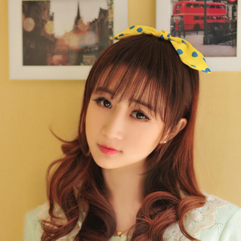Korean Air Is Thin Translucent Bangs Wig Sense Of Thin Air
