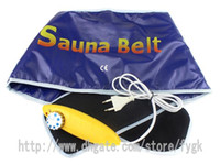 Wholesale Heated Belt Weight Loss - Wholesale - NEW Far Infrared Sauna Heat Type Slimming Belt umbilical therapy Quick weight loss calorie burn belt
