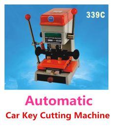 audi lock pick tools Desconto DHL Frete Grátis 110 v / 60 hz ou 220 v / 50 hz 339C Automático Máquina de Corte Chave Do Carro Máquina de Serralheiro Máquina de Cópia Chave com conjunto completo de ferramentas