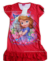 Wholesale Cotton Corduroy Girl Dress - Frozen TUTU Dress New Fashion Korean Elsa Princess Girls Party Clothes Fancy Costume Rose Red  Pink TUTU Dresses free shipping