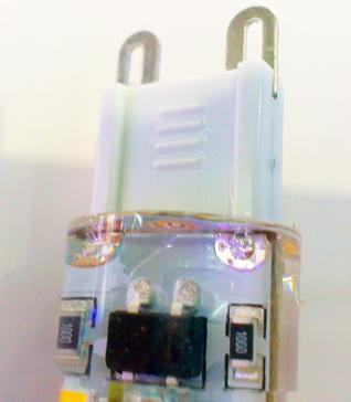 50X 7W 3W Led Candle bulbs chandelier accessories SMD 3014 104LEDs 600 lumen AC 110V-130V 220-240V G9 LED Lamp 360 Beam Angle Via DHL