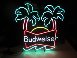 Wholesale Vintage Neon Signs - Budweiser Double Palm Vintage neon sign
